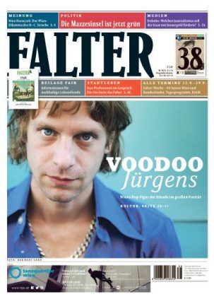 Voodoo am Cover des Falter