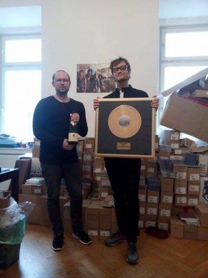 foto gold record